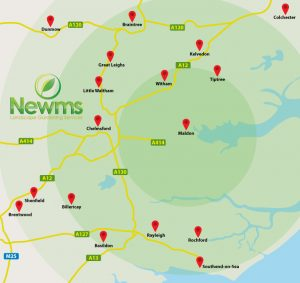 Newms Location Map